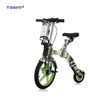 Most popular 2 wheel electric folding travel e bike mobility scooter