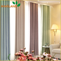 Top grade hotel use blackout velvet drapery curtain fabric