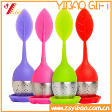 Wholesales Potted plant Silicone +stainless steel tea infusers