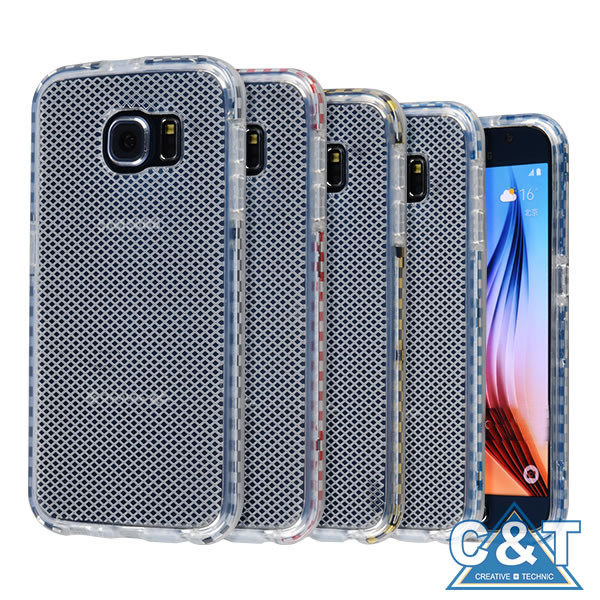 C&T Anti-Scratches TPU Gel Slim Flexible Soft Bumper Rubber Protective for Samsung S7 Case