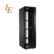 19 inch 42U Aluminum Frame Rack Cabinets With Tempered Glass
