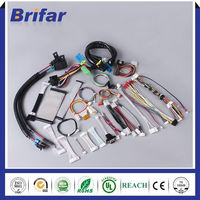 Manufacture price electrical automotive car dvd player wire harness suitable for Mazda