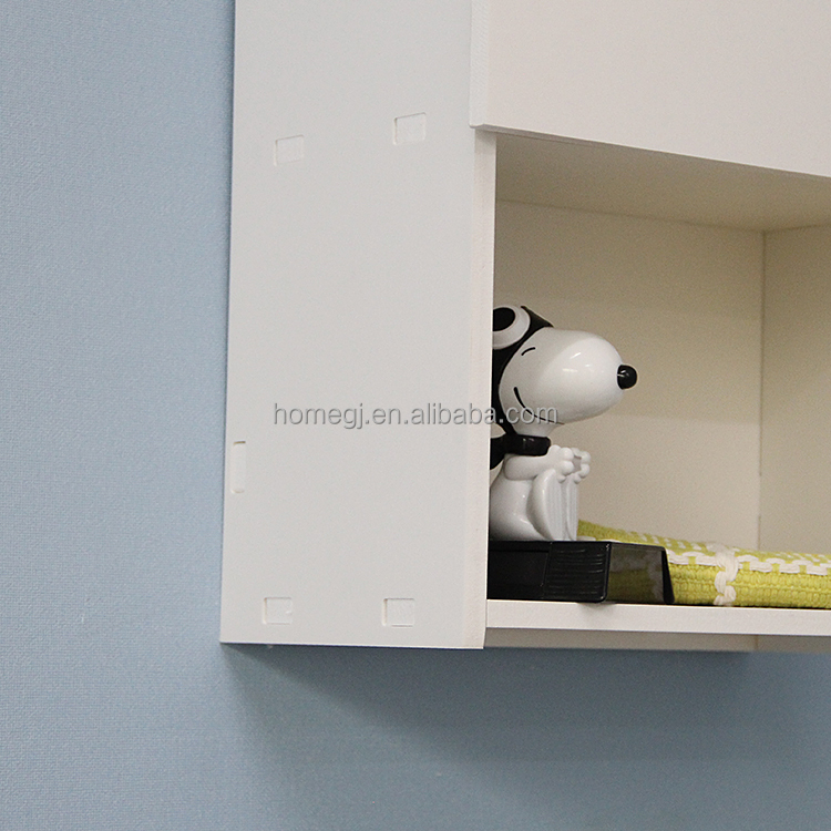 hogar muebles de ba o flotante de alta gabinete de