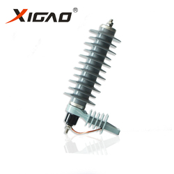 Economic Reliable 36kv polymer type lightning arrester