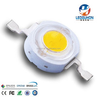 high power led with 1W warm white fot outdoor lights