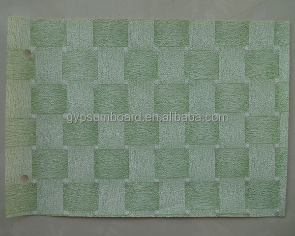 light green decorative pvc membrane