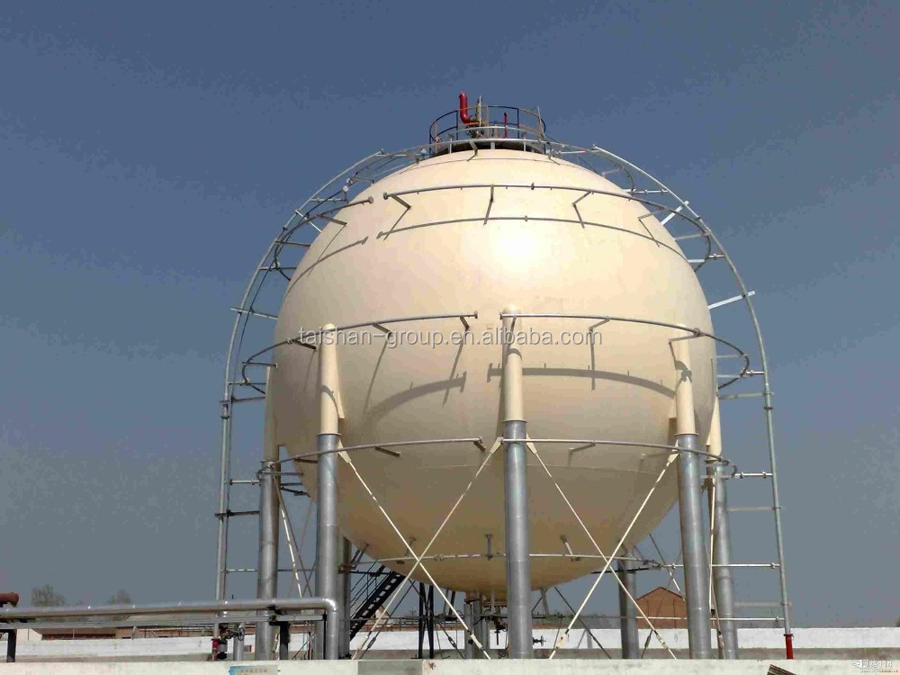 The top class supplier of ASME silicon tetrachloride carbon steel spherical tanks/sphere in China