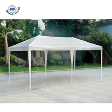 Easy Assembled PE Garage Gazebo Metal Car Canopy