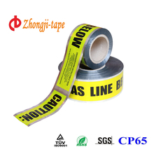 aluminium detectable marking tape for GAS LINE