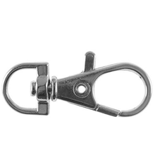 Metal Swivel Clasps Snap-On Keychain Ring Hook Clip for Keys