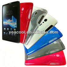 S Line Soft TPU Gel Silicon Case for Sony Ericsson Xperia ION LT28i