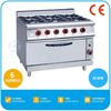 2017 Chinese Commercia Range in All Brands Burner Gas Stove - Gas Oven, 29.6Kw, 6 Burners, TT-WE420D