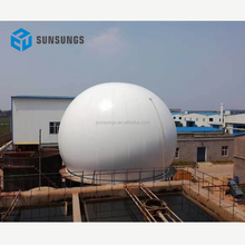 Heat preservation automatic alarm system methane storage tank/ biogas storage bag