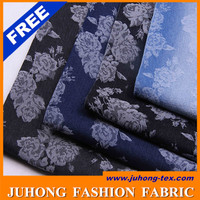 Denim Jacquard cotton fabric used for pants
