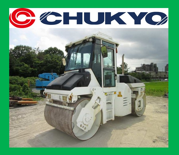 CC222 Dynapac Used Tandem Roller <SOLD OUT>/ Rops Cab