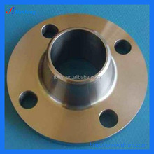 Factory Produce Best Quality ASTM B16.5 Gr2 DN80 DN100 DN150 WN Titanium Welded Pipe Flanges
