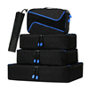 4 Set Packing Cubes Travel Luggage Packing Organizers with Shoes Bag