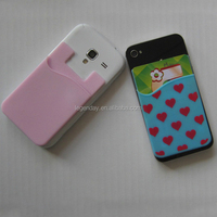 Silicone waterproof mobile phone pouch