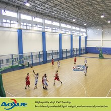 China Facroty Sale PVC Sports Flooring for Basketball Court