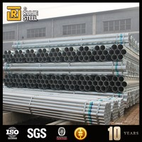 Quality assured 0.5mm-10mm thickness GI Pipe/GI steel Pipe epoxy coated cast iron pipe