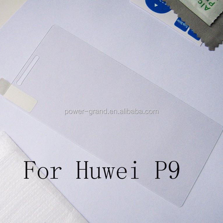 Premium 0.3mm 9H 2.5D Tempered glass screen protector for Huawei P9