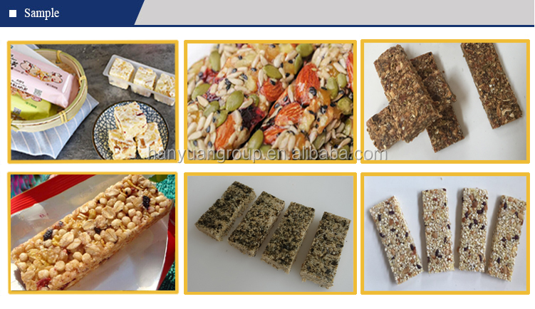 Factory Price Sesame seed Candy Cereal Protein Granola Nut Bar Maker Processing Equipment Peanut Brittle