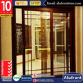 Australia standard double glazed modern sliding design wood door in kitchen