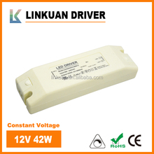 6W 25W 30W 40W 80W Led power suppply Constant Voltage dimmable 48V 24V 12V led driver for strip lights