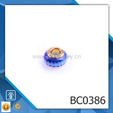 wholesale price murano glass charm beads BC0386
