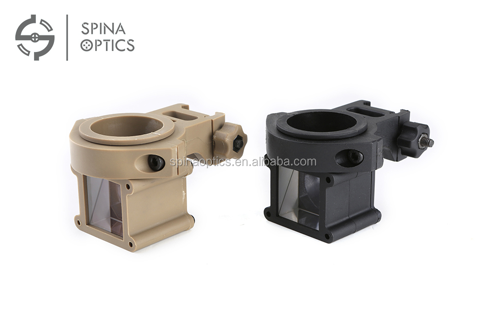 SPIAN OPTICS Tactical Hunting Reflect Corner Angle Sight 360 Degree Rotate For Red Dot Holographic Sight Riflescope
