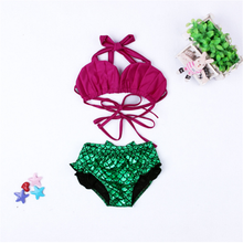 Bestseller Wholesale 2017 Latest Children Mermaid Swimsuit For Kids