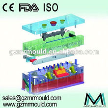 plastic round stool injection mould