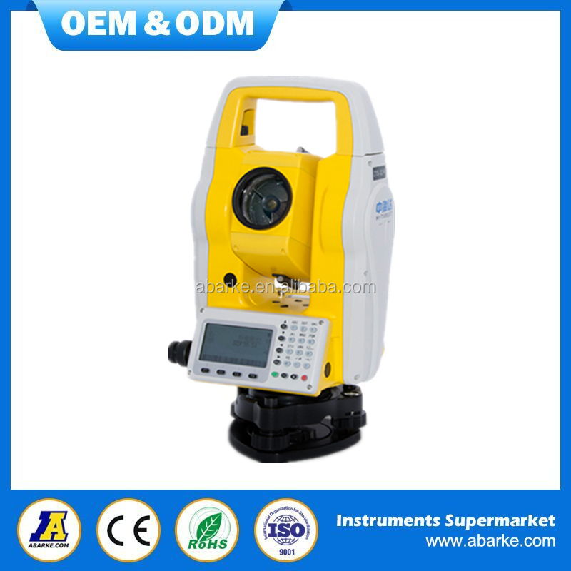"China factory made low price 2"" robotic total station, brand total station survey instrument"