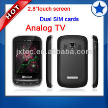 2.8 inch touch screen TV mobile china celular phone 3860
