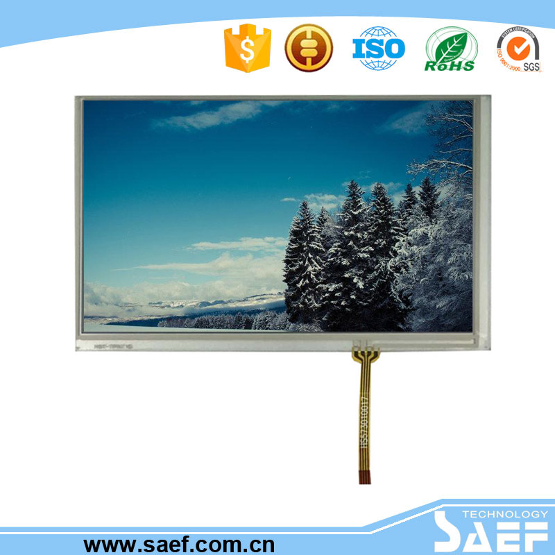touch screen 7 inch resistive with 800x480 resolution with controller board touch screen for android pc