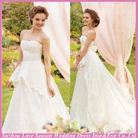 WD5588 2015 latest design wedding dress canada made in china