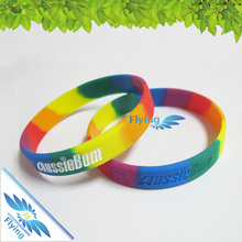 2017 New adjustable biodegradable active rfid black rubber band ble beacon silicon wristband