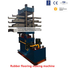 recycling tyre tile making machine and rubber tile vulcanizing machine and rubber paver tile press