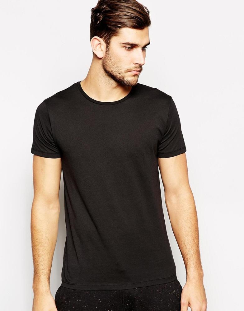 Bulk blank black men 39 s slim fit gym pima cotton t shirts for Where to buy blank t shirts in bulk