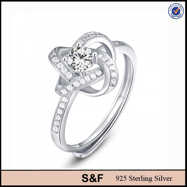 925 Silver Jewelry 925 Sterling Silver With Zircon S925 Ring