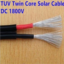TUV approved PV1-F solar pv cable High quality