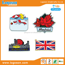 Country Souvenir Fridge Magnets Custom Canada, America, Britain Country Magnet Flags