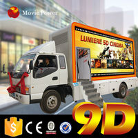 Cyprus popular 9d cinema vehicle with large carrying capacity