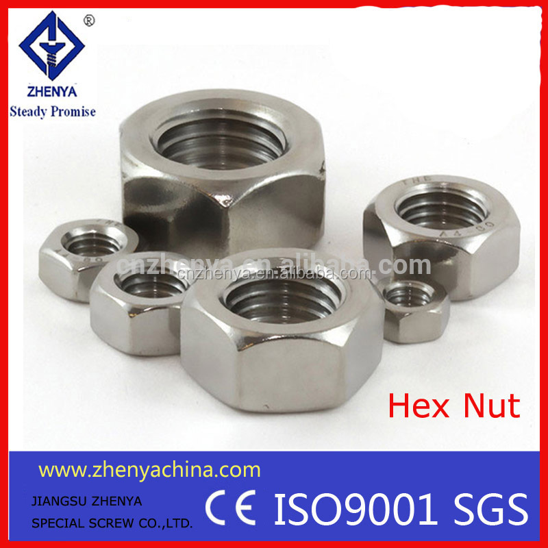 nut bolt manufacturing machinery price Hex Nut M8 DIN934 / DIN439 bolt and nut