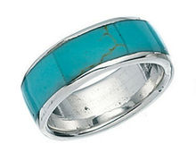 Men antique turquoise ring