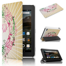 "Angel designed case for Amazon Kindle NEW-fire 7"" Display Tablet Ultra Slim PU Leather Magnetic Cover"