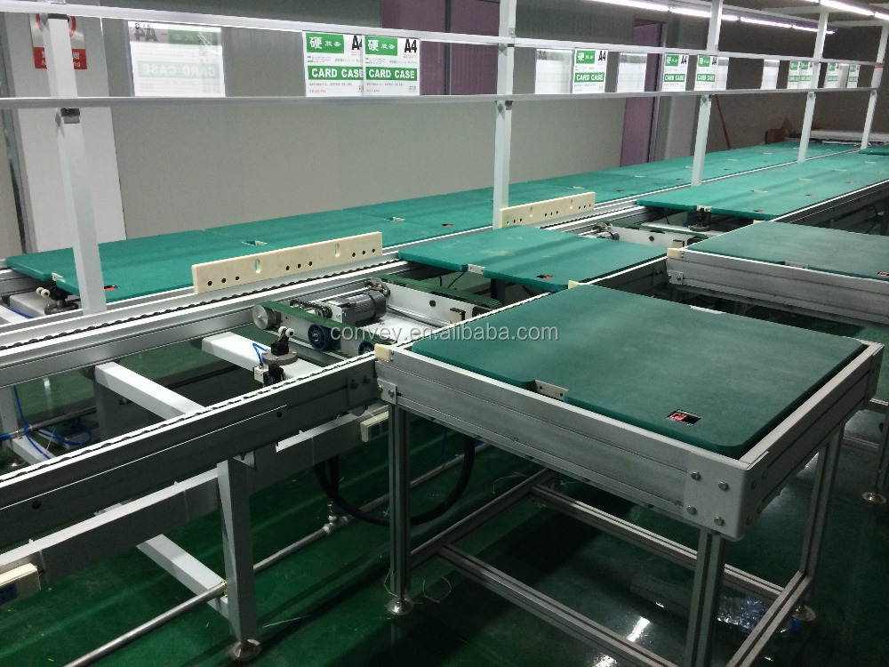 LED TV assembly line/TV assembly line/manual assembly line with chain conveyor