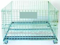 Electric Galvanized 50*50mm Metal Storage Cages with wheels 2014 China Anping Baochuan(manufacturer)
