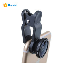 3in1 Clip on Fish-Eye +Wide Angle + Micro Lens for SmartPhone