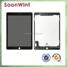 Factory price for ipad air 2 lcd screen with home button with one year warranty